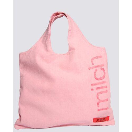 milch Basics Canvas Tasche   Bio Fair   Rosa rosa