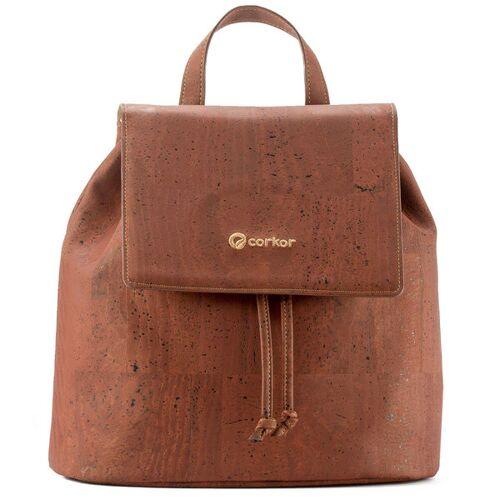 Corkor Backpack Kork-rucksack rot