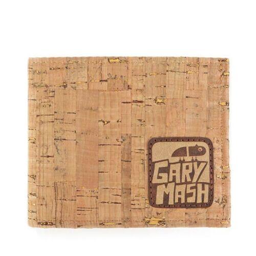 Gary Mash Korkgeldbörse Manhattan braun