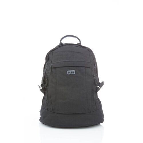 Pure Praktischer Rucksack black