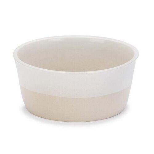 Treusinn Hundenapf Keramik Deli  l = ø 22 cm, h 8 cm