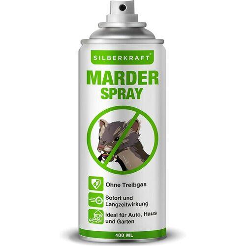 Silberkraft Marderspray, Marderabwehr Für Auto Und Dachboden, Marderschutz Und Wirksame Alternative Zu Marderschreck & Marderfalle
