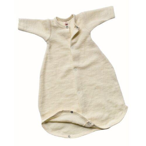 Engel natur Baby Schlafsäckchen Langarm Schurwolle Kbt beige größe 1 (50 cm)