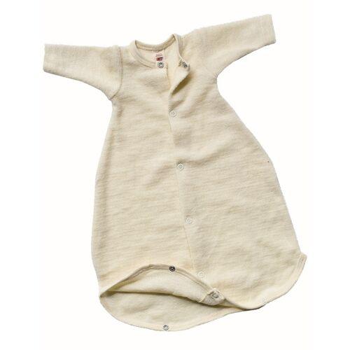 Engel natur Baby Schlafsäckchen Langarm Schurwolle Kbt beige größe 2 (62 cm)