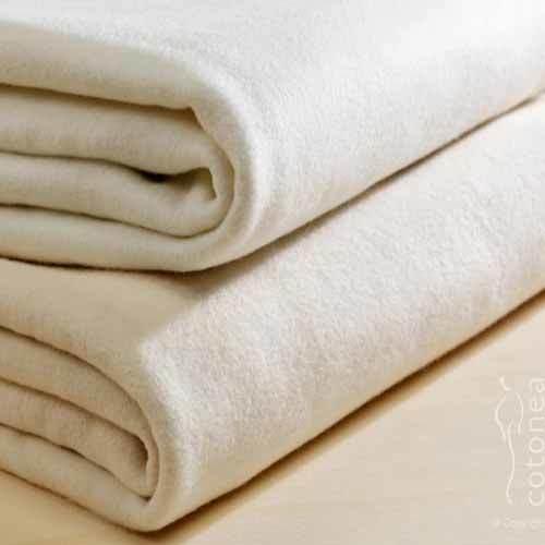 Cotonea Molton Matratzenschutzauflage weiß 100 x 200 cm