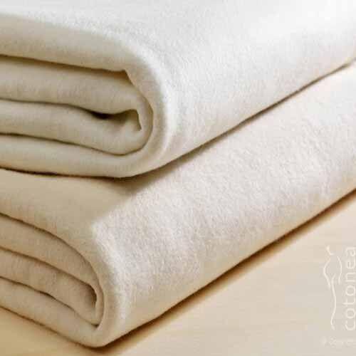 Cotonea Molton Matratzenschutzauflage weiß 120 x 200 cm