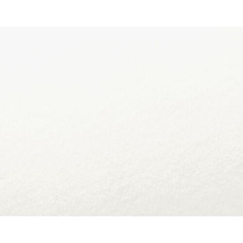 Cotonea Edel Biber Spannbezug weiß 100x200 cm