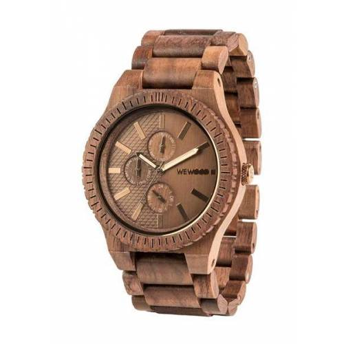 Wewood Holz-armbanduhr Kos Nut Bronze   100% Hautverträglich