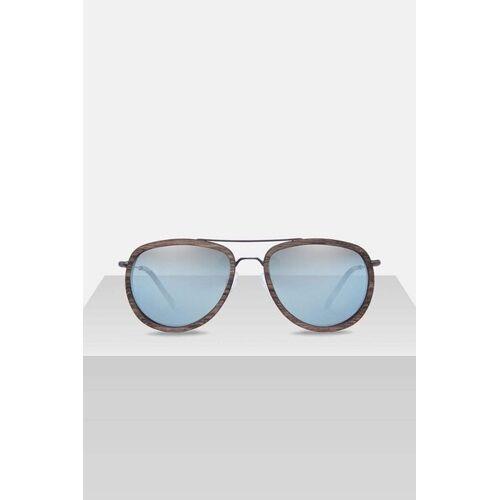 Kerbholz Sonnenbrille Aus Holz 'Ferdinand' walnussholz