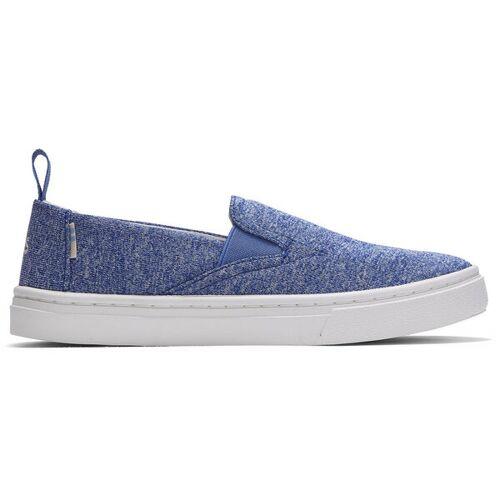 TOMS Vegan Kinder Slipper - Luca blau (blue) 36