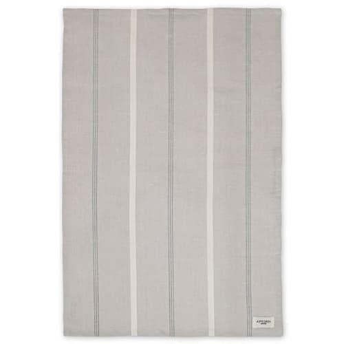 Aspegren Geschirrtuch Aus Halbleinen Mit Bio-baumwolle 50 x 70 Cm pinestripes silver grey