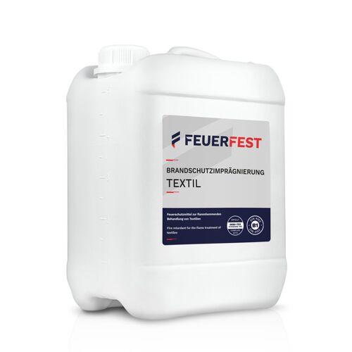 FEUERFEST® Feuerfest Brandschutzimprägnierung Für Textilien - Din 4102-b1 - 5,0l