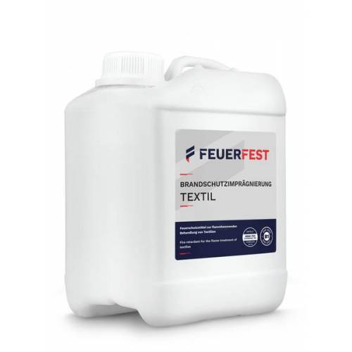 FEUERFEST® Feuerfest Brandschutzimprägnierung Für Textilien - Din 4102-b1 - 2,5l