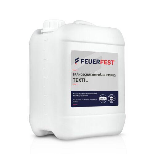 FEUERFEST® Feuerfest Brandschutzimprägnierung Für Textilien - Din 4102-b1 - 10,0l