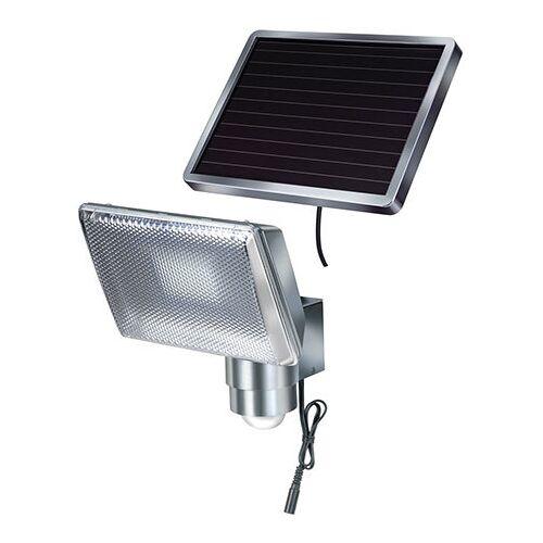Brennenstuhl Solar-led-strahler Sol 80 Alu Mit Bewegungsmelder