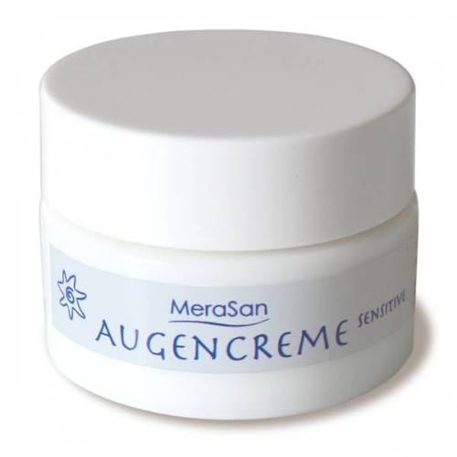 Merasan Vegane Augencreme Sensitive -Parfümfrei- 15ml