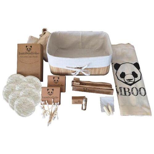 bambusliebe Bambus Geschenkkorb Set bambus