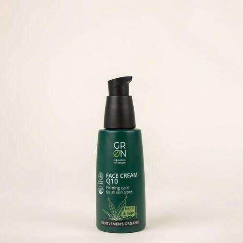 Grn [Grün] Q10 Gesichtscreme Straffende Pflege Hanf & Hopfen grün