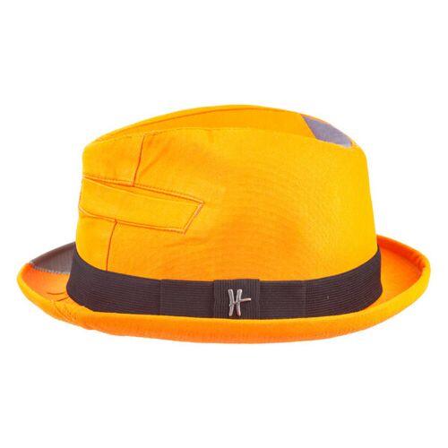 """ReHats Berlin Player-hut """"Bürgermeister"""" Aus Arbeitskleidung - Orange orange 58 cm"""
