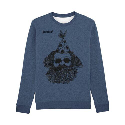 karlskopf Fasching blau(s) M
