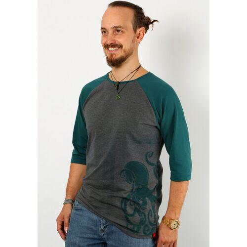 Die rote Zora 3/4 Shirt Eistee  52