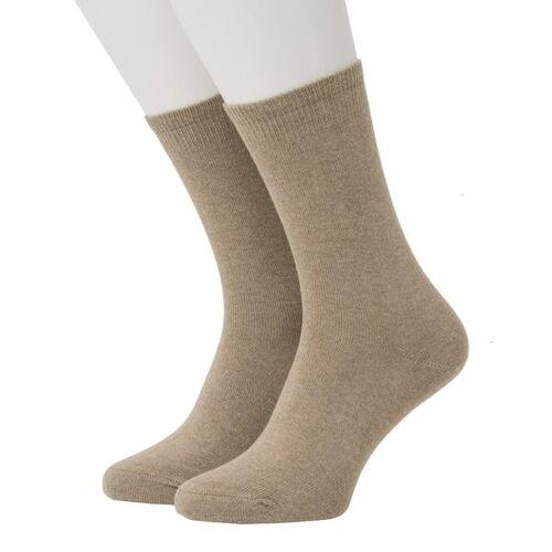 Opi & Max Cashmere Socks camel 36-40