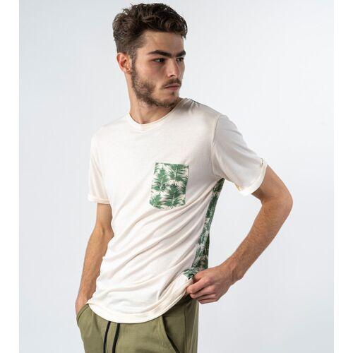 Gary Mash Shirt Miami Palmenblätter  S