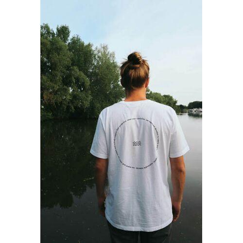 SALZWASSER Rückenwind - T-shirt Aus 100% Bio-baumwolle (Gots) Von Salzwasser weiß XL