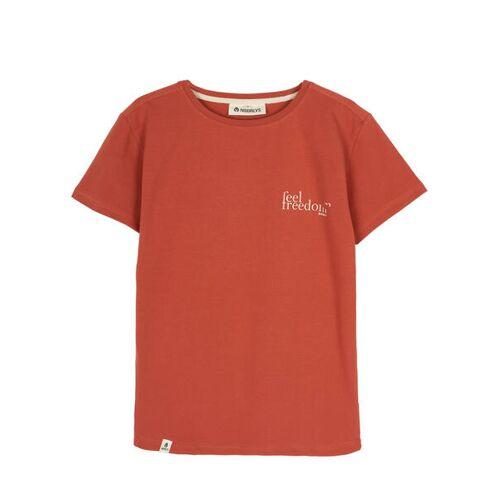 NOORLYS T-shirt Frihet rot S