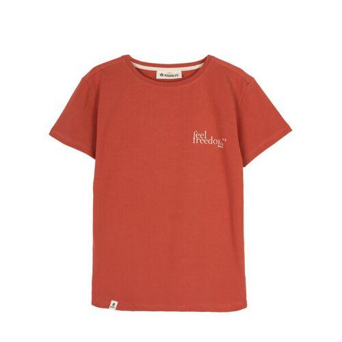 NOORLYS T-shirt Frihet rot XXL