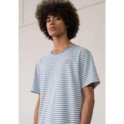 HAFENDIEB Strandkorb T-shirt blau XXL