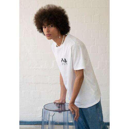 HAFENDIEB Sonnenbrand T-shirt weiss L