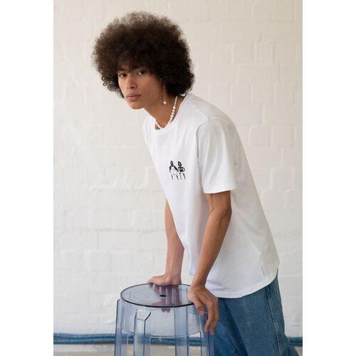 HAFENDIEB Sonnenbrand T-shirt weiss XL