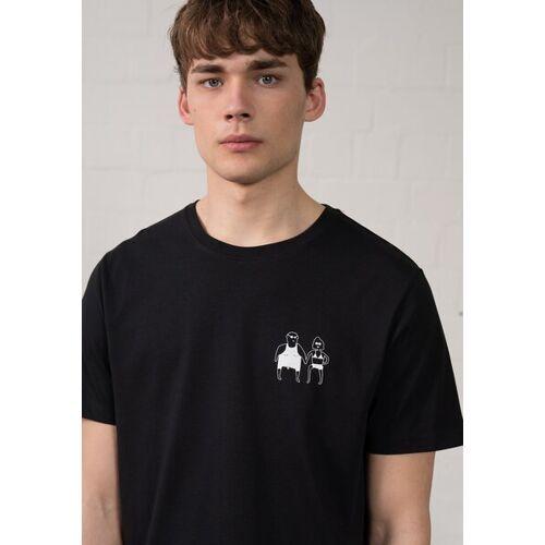 HAFENDIEB Sonnenbrand T-shirt schwarz XXL