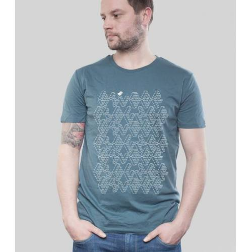 "SILBERFISCHER Shirt Men Denim ""Ascii"" denim M"