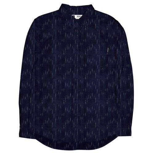 Dedicated Shirt Hemd Varberg Handloom Rain  S