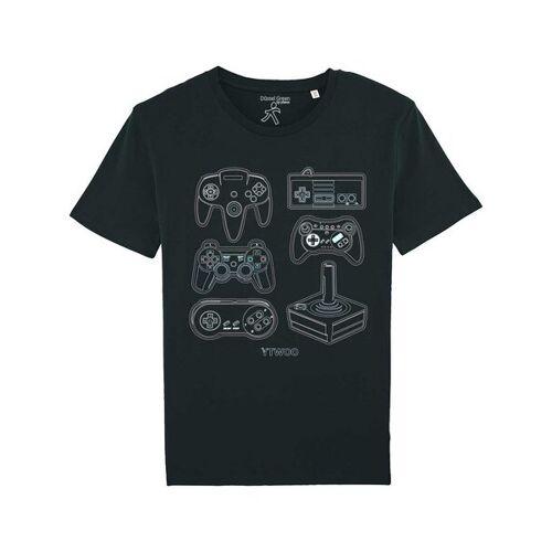 YTWOO Spielkonsolen schwarz L