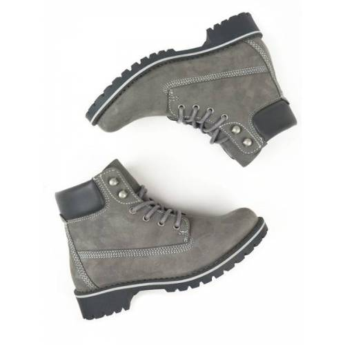 Will's Vegan Shop Dock-boots Veganes Wildleder Herren grau veganes wildleder 45