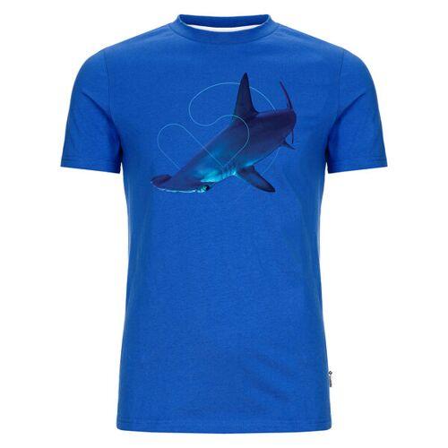 Lexi&Bö Hammerhead Herren T-shirt blau XL