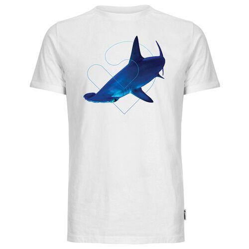 Lexi&Bö Hammerhead Herren T-shirt weiss XXL