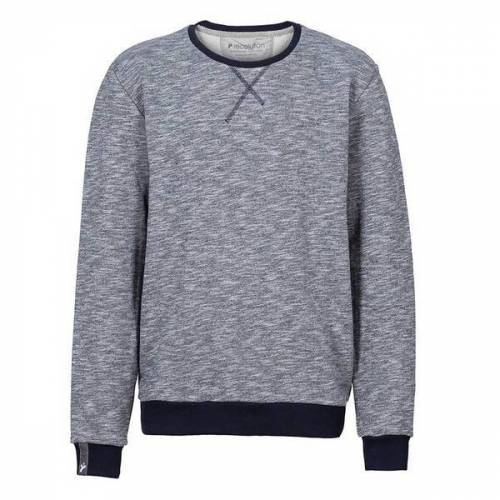 recolution Herren Sweater Knut grau heavy XXL