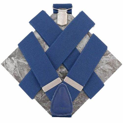 klYmp Hosenträger 'Basic' Uni blau m (120cm)