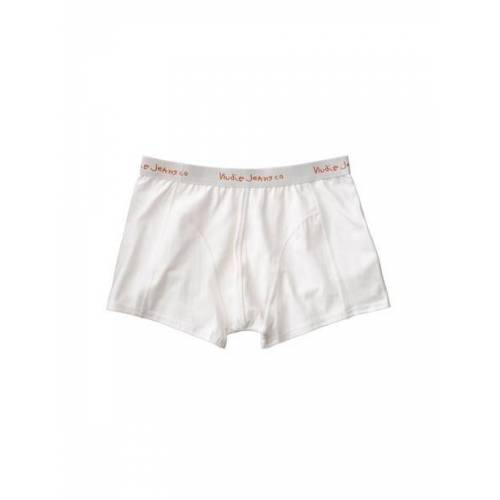 Nudie Jeans Boxer Briefs Solid white S