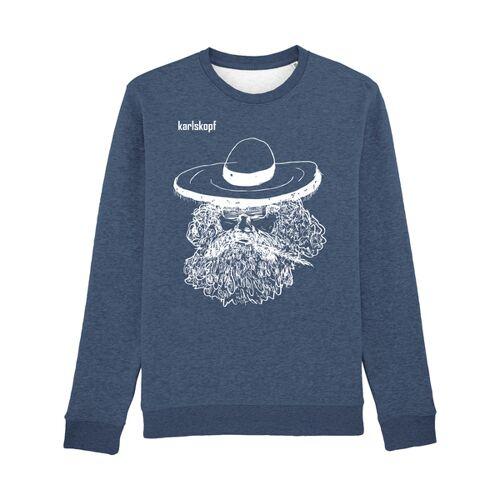karlskopf Mexikaner blau(w) XL