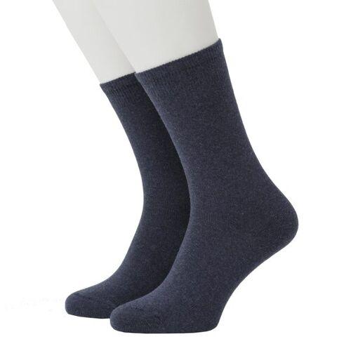 Opi & Max Cashmere Socks blue 41-46