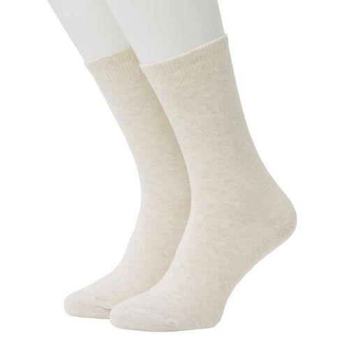 Opi & Max Cashmere Socks ecru 36-40