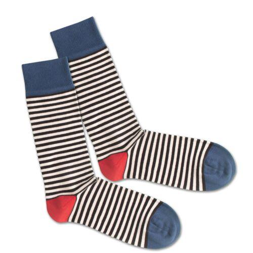 Dilly Socks Socken - Basic Liner blau 36-40