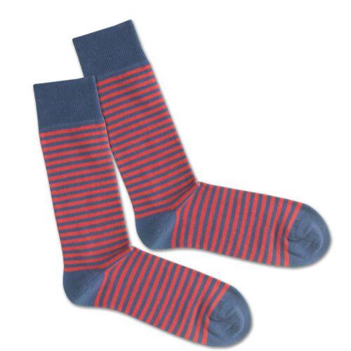 Dilly Socks Socken - Red Sky Liner blau/rot 36-40