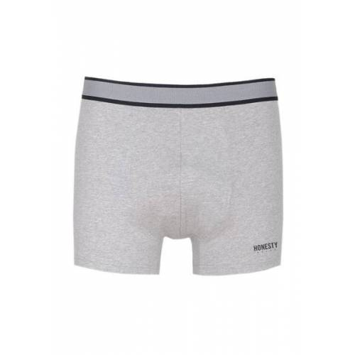 Honesty Rules Trunk Unterhose grey/mel M