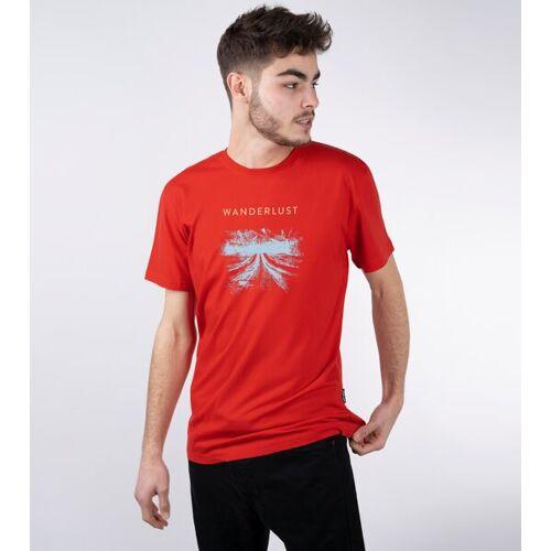 Gary Mash Shirt Wanderlust Aus Modal®-Mix rot S